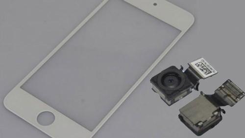 Fotocamera iPhone 5 e pannello iPod Touch