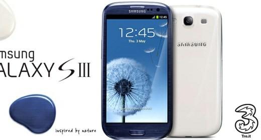 Samsung Galaxy S III con 3 Italia