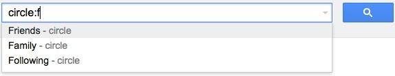 Le cerchie sociali su Gmail