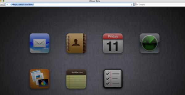 Icone di iCloud