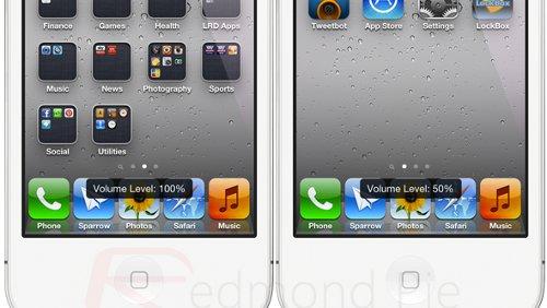 iPhone 4S volume