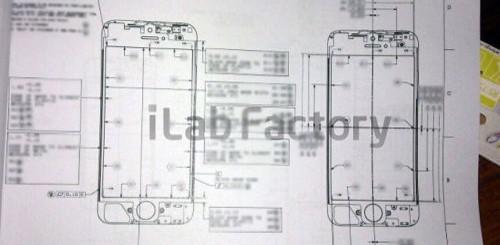 iPhone 5, schema