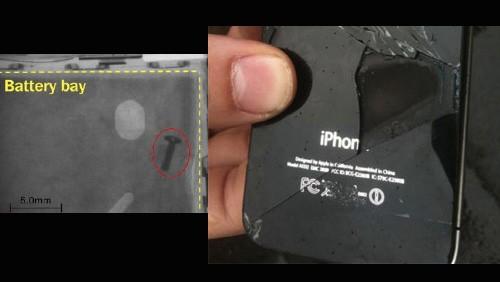 Combustione di iPhone 4