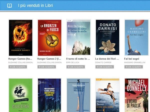 Libri a pagamento su Google Play