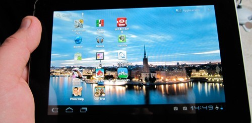 Huawei MediaPad con Android 4.0 ICS