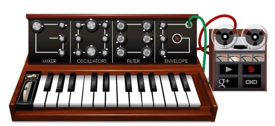 Google, un doodle per Robert Moog