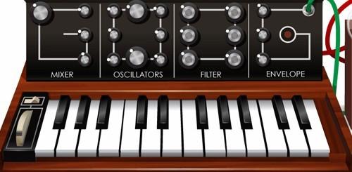 Robert Moog doodle, come suonare il minimoog