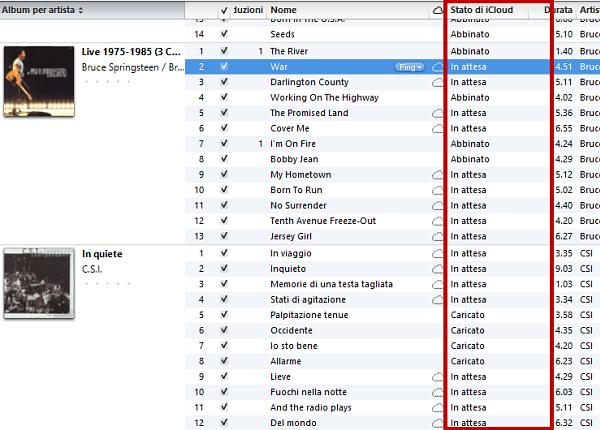 iTunes Match: passo 7 (bis)