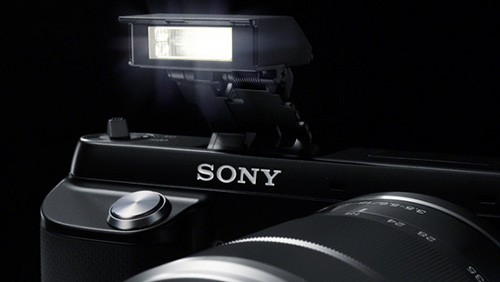 sony nex-f3 flash