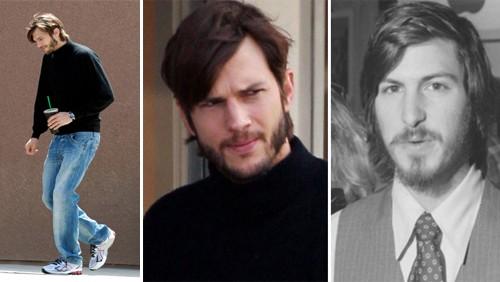 Ashton Kutcher interpreta Steve Jobs