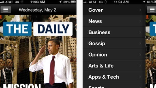 The Daily su iPhone
