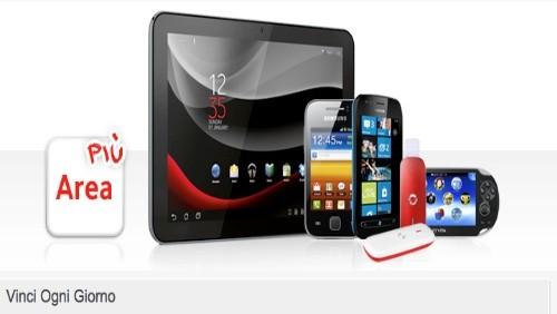 """Vodafone lancia il concorso """"Vinci Ogni giorno"""""""