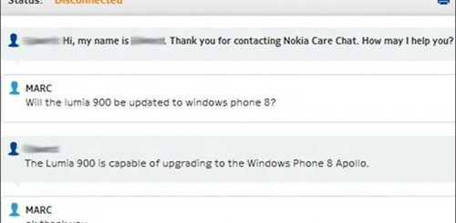 Nokia Lumia 900 e Windows Phone 8