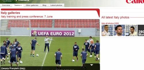 Canon Euro 2012