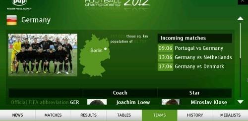 EURO 2012 Smart TV