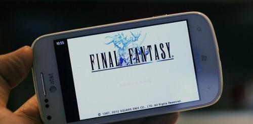 Final Fantasy Windows Phone