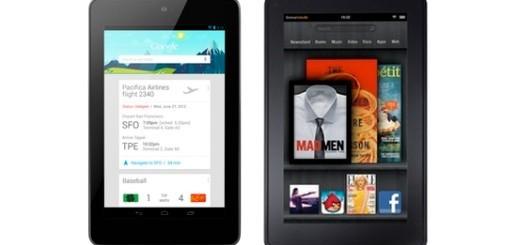 Google Nexus 7 - Amazon Kindle Fire