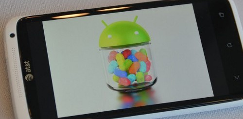 HTC One Jelly Bean