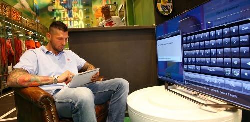 Marco Materazzi Samsung Smart TV