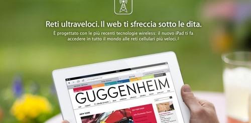 Nuovo iPad 4G LTE