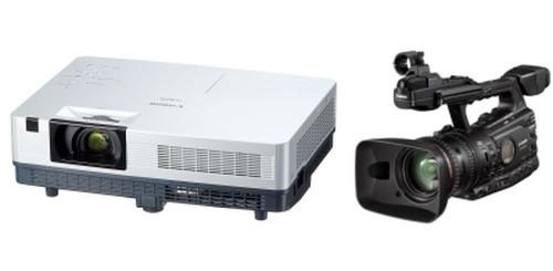 Proiettore LV - Videocamera XF