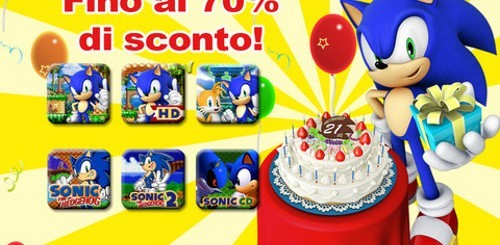 Sconti Sonic su App Store