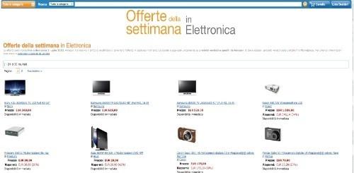 Amazon: le offerte di elettronica della settimana