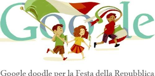 Festa della Repubblica, Google doodle