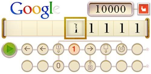 Alan Turing, Google doodle