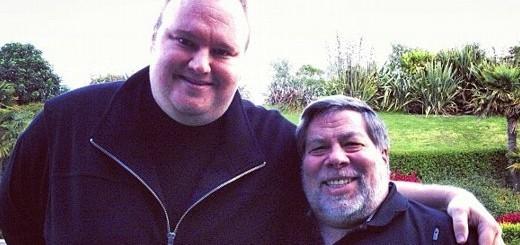 Kim Dotcom e Steve Wozniak