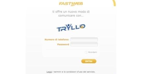 Fastweb lancia Tryllo per telefonare dal web e da Facebook