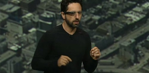 Google I/O: Sergey Brin con Google Glass