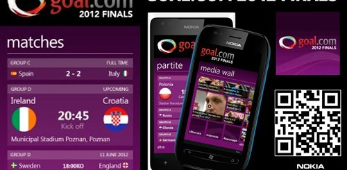 Goal.com 2012 Finals per Nokia Lumia