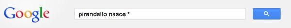 Funzione asterisco su Google