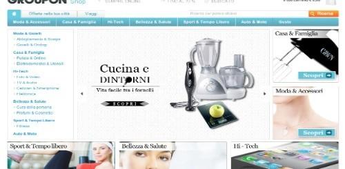 Groupon Shop, offerte esclusive sempre online con sconti sino al 70%