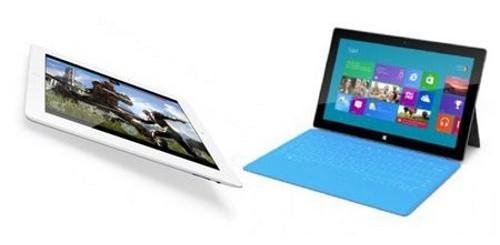 iPad e Surface
