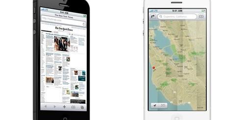 iOS 6 su iPhone 5