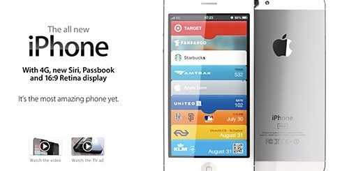 iPhone 5, concept