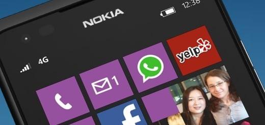 Nuova Start Screen Windows Phone 7.8