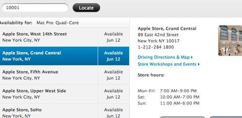 Inventario Mac Pro