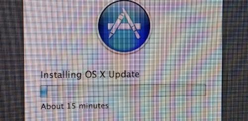 osx mountain lion update