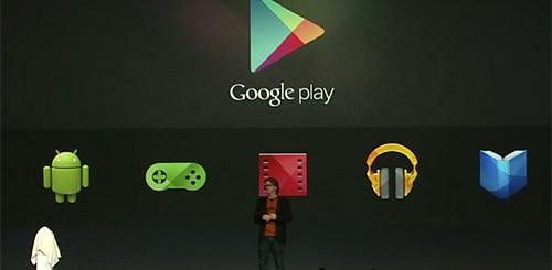 Google I/O, Google Play