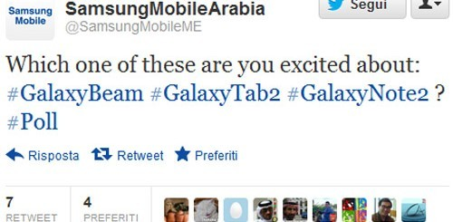 Samsung Galaxy Note 2, rumor