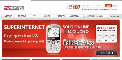 Telecom Italia: uno smartphone Huawei in regalo a chi attiverà oggi Super Internet