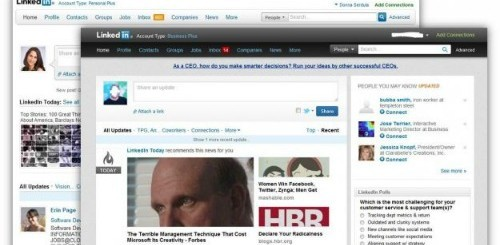 LinkedIn, la nuova interfaccia