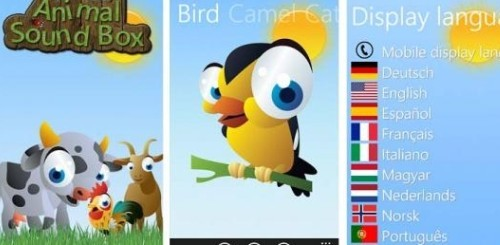 Animal Sound Box - Windows Phone