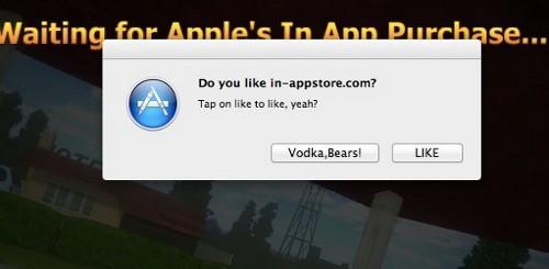 Exploit in-app Mac App Store