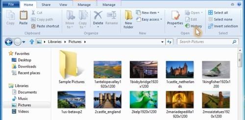 File History Windows 8