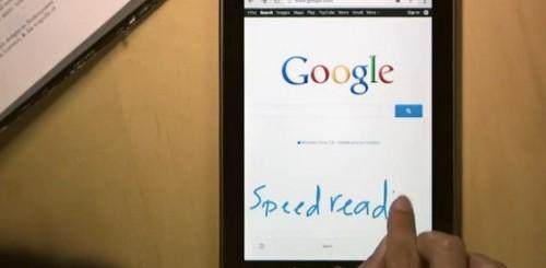 Google scrittura a mano