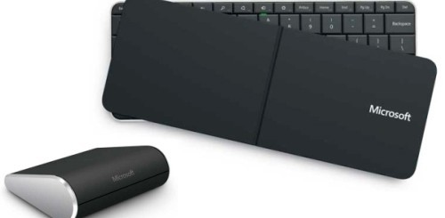 Wedge Mobile Keyboard e Touch Mouse